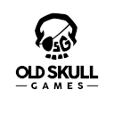 logo old skull games