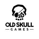 logo old skull games